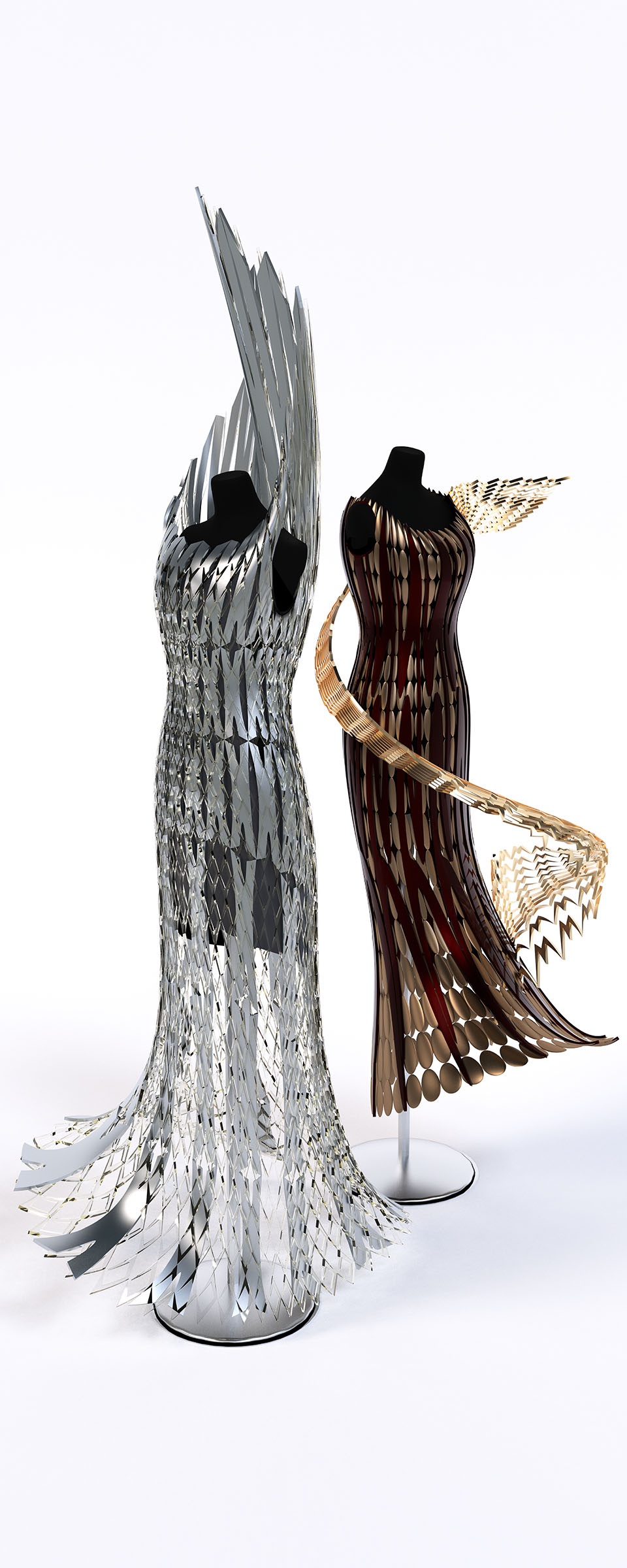 CAD dress Designs, Featured in New York Times
