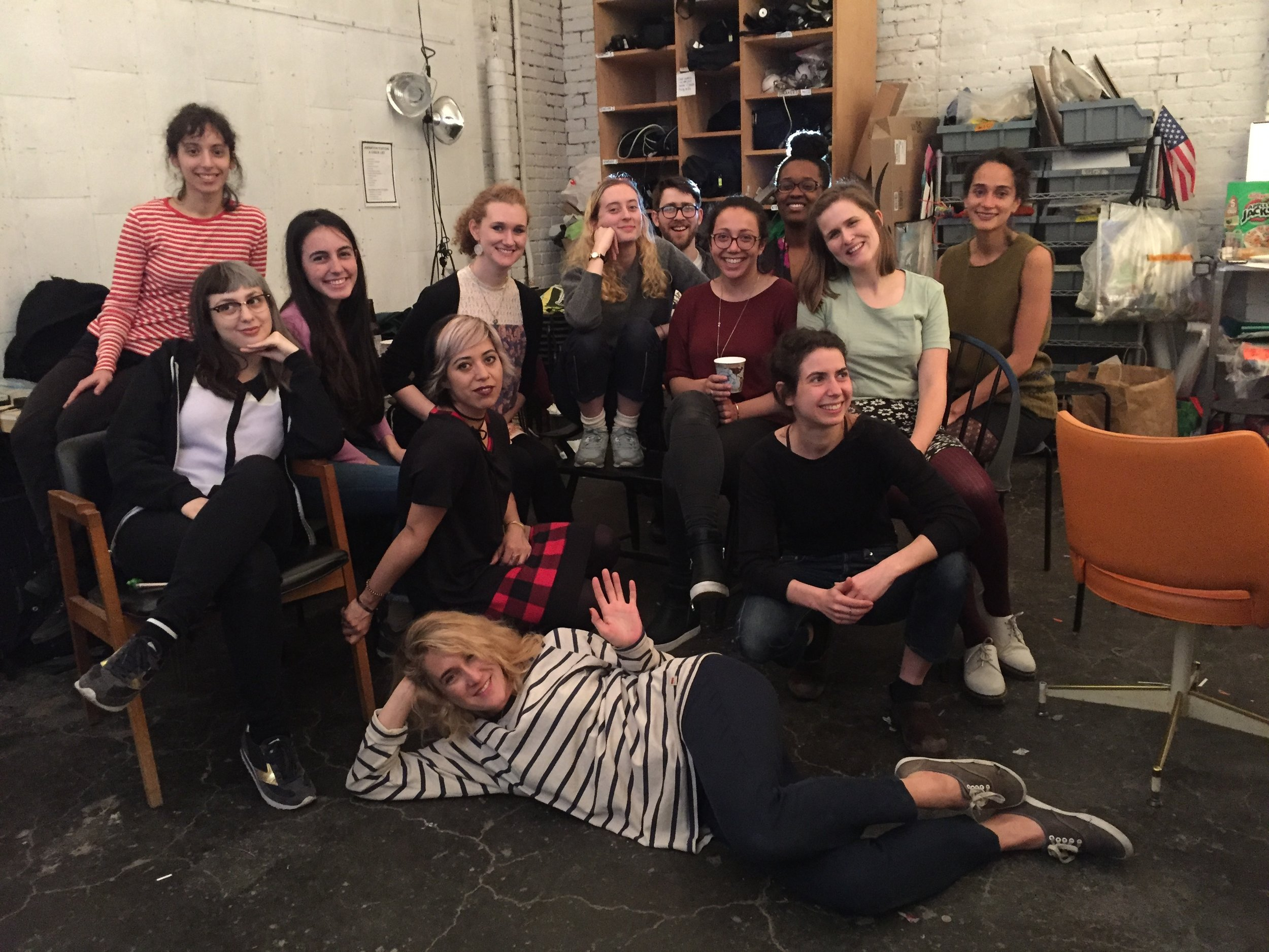 The Little Animation Studio Teaching Artist Team