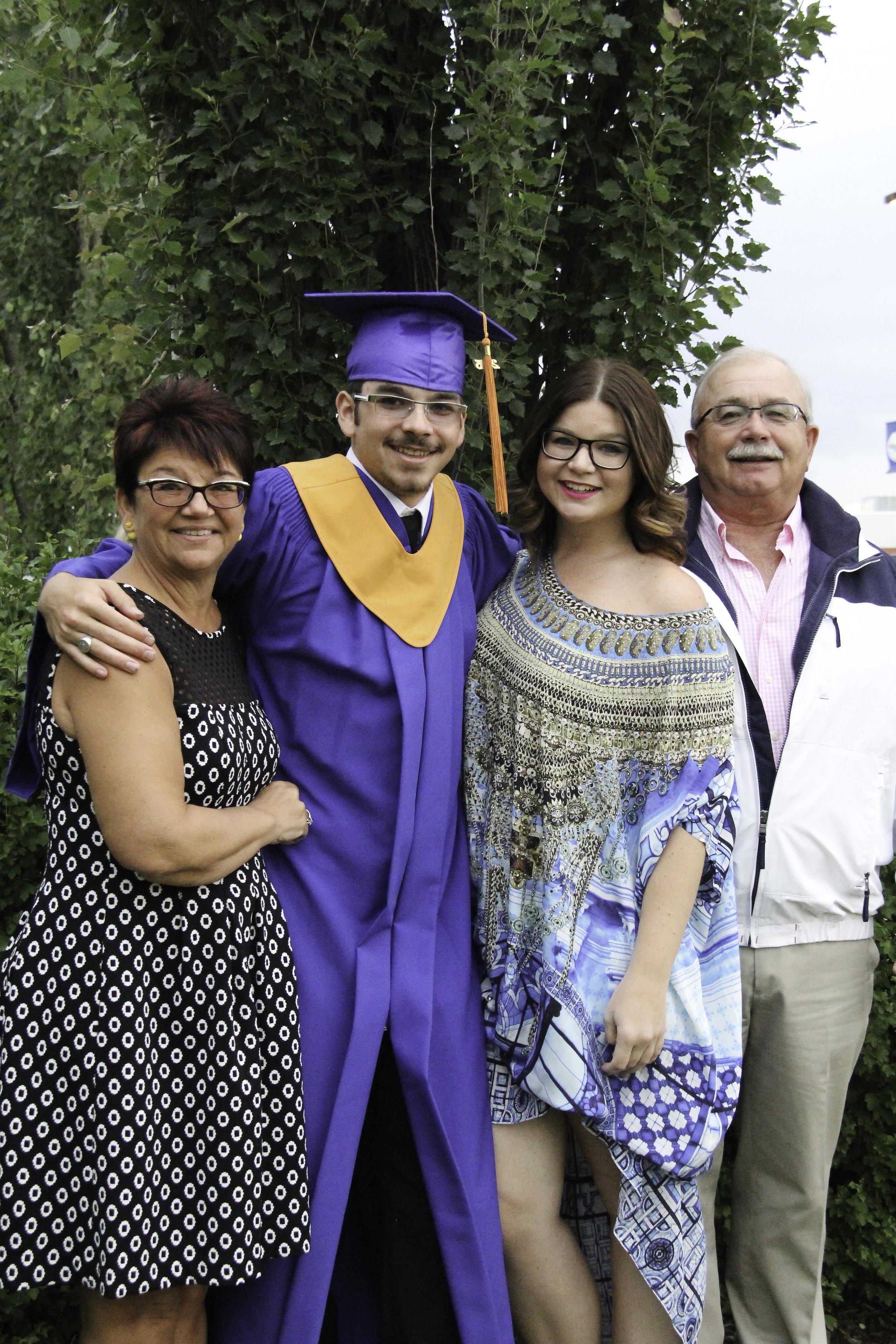 la familia - houston's gradutation // 2015