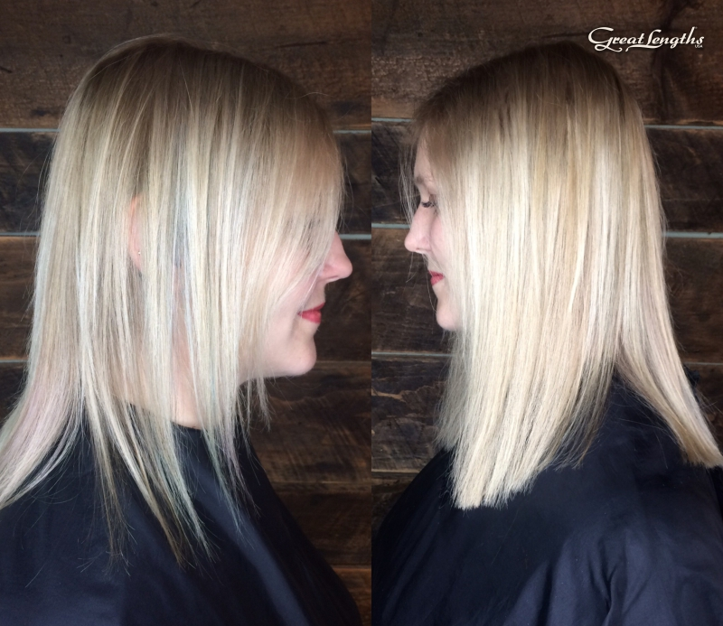 Hillary Loves Hair Salon Asheville NC Great Lengths hair extensions Keratin Bonds Hillary Small
