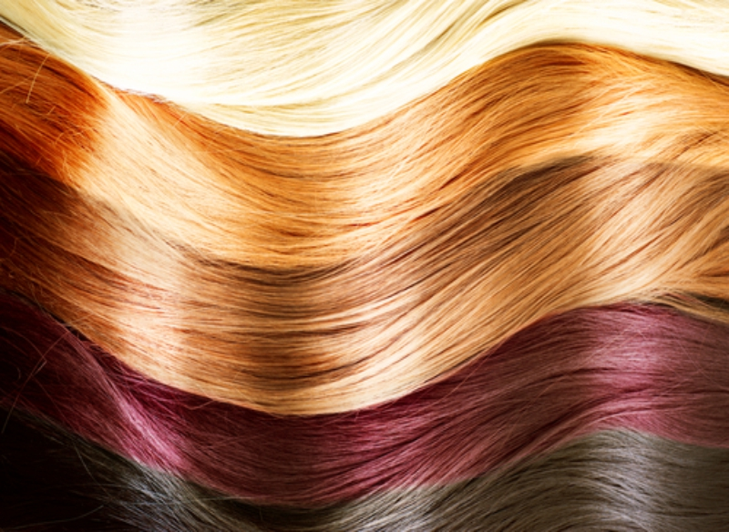 examples of shine from olaplex in all various colors