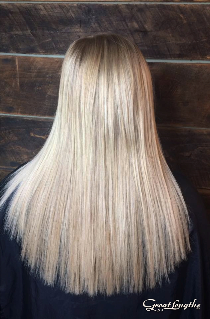 Hair Extensions - Hillary Small is certified with Great Lengths Hair Extensions, and this means you are looking into the best option on the market - 100% Real & natural, long lasting, non-toxic and administered by a hands-on trained technician.Not only pricing but also the lengths, fullness and hair color varies, so we would like to walk you through the process with a free consultation.Call 828.582.1620 or book online a consultation.To learn more about hair extensions - tell me more*First service includes a complimentary Great Lengths hair brush, shampoo and conditioner starter package.