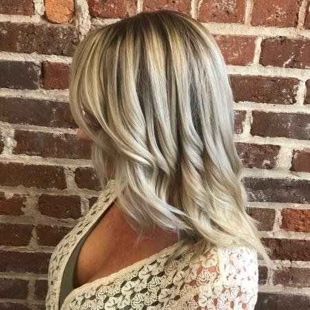 Hillary Loves Hair Salon Asheville NC Balyage Color Stylist Hair