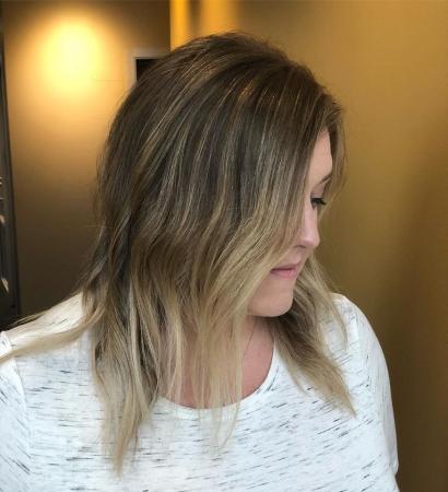 Hillary Loves Hair Salon Asheville NC Balyage Hair Style Color Hair Stylist