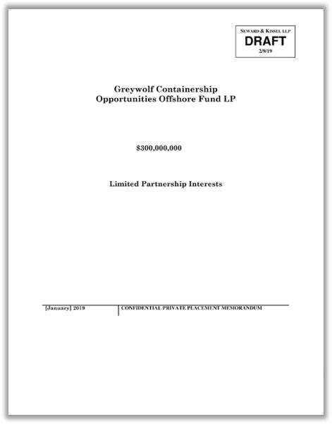 Greywolf Capital Dataroom — Langschiff