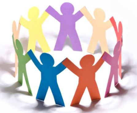 join a support group or volunteer