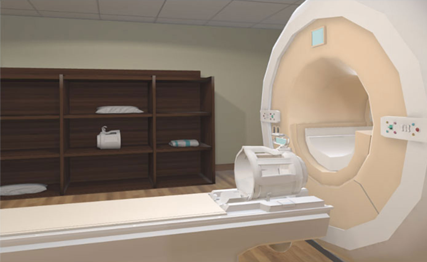 KindVR MRI Practice - An interactive MRI experience that helps patients to become familiar with the MRI scan process and to practice staying still. The MRI app is designed to educate, desensitize, and prepare patients for their MRI scans.
