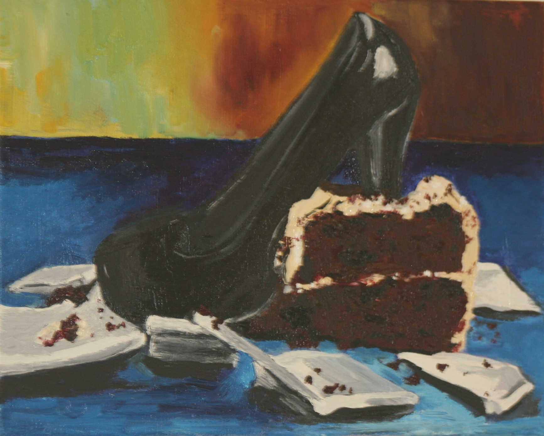 cake piece stomp