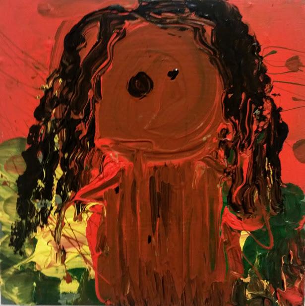 portrait of my daughter Briallen