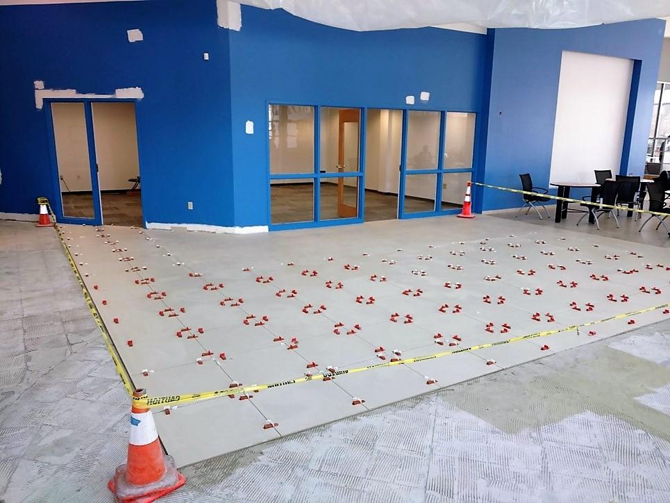 3-29-19 progress on floor tile.jpg
