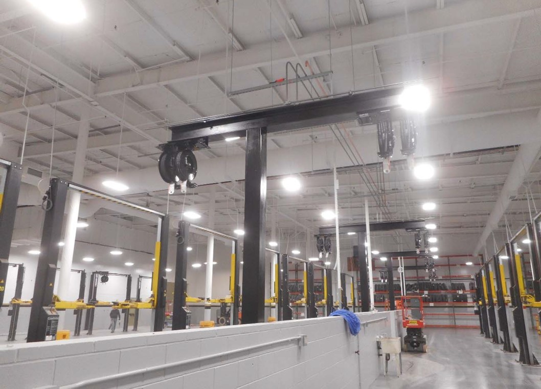 2-7-19 contiue equipment installation in shop area.jpg