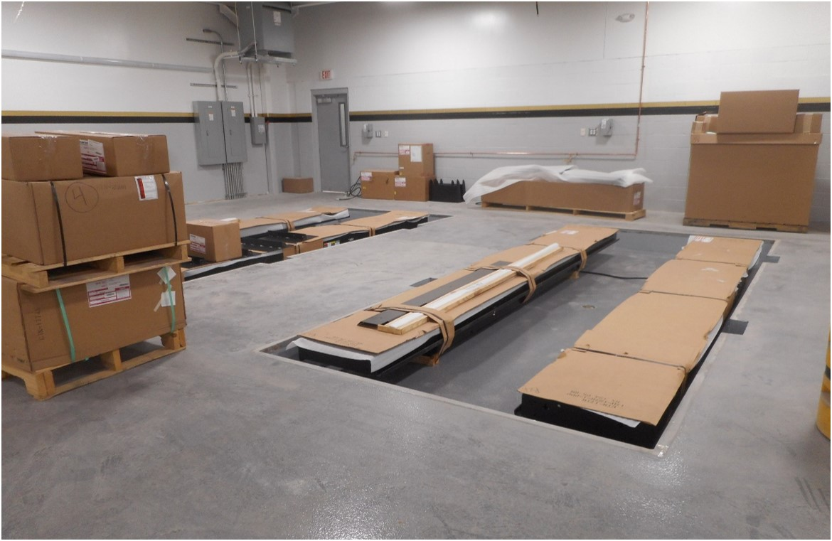 3-28-19 continue hunter equipment install.jpg