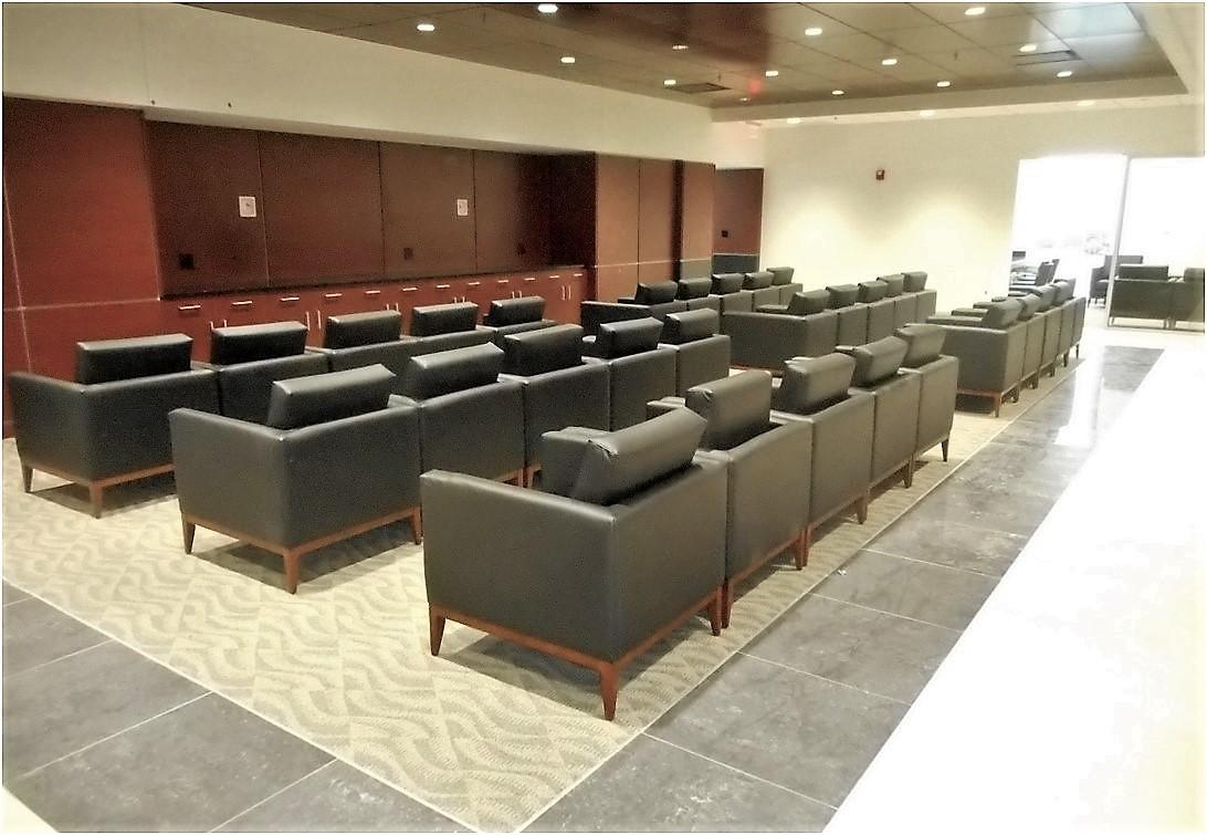 5-2-19 install furniture at cumstomer lounge.jpg