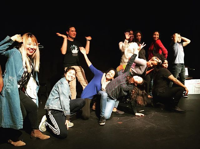 Shout out to these folks for a wonderful 8 weeks🎭they killed it last night!!! 🔥🔥 . . . #POCImprov #ImprovForPOC #UntoldImprov #ImprovBayArea #Improv #Comedy #Theater #Arts #RepresentationMatters