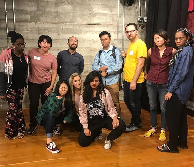 Join us this Thursday for a Free Improv for People of Color workshop 😮 just a couple spots left! 😁We promise we'll be all smiles...for the most part 🤪CounterPulse in SF, untoldimprov.com to register!