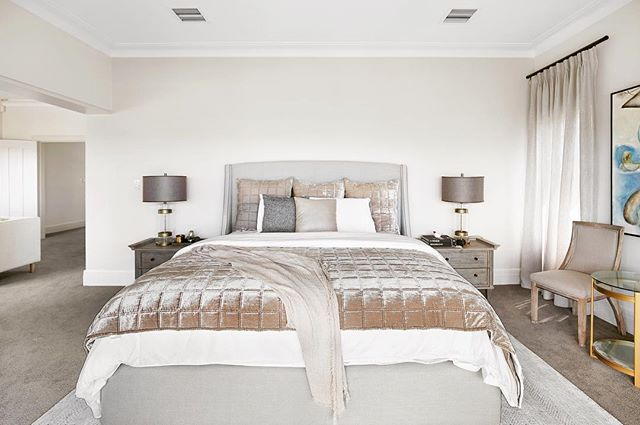 Dreamy bedrooms at Cremorne 🤩 | #luxury #goals #eventspace