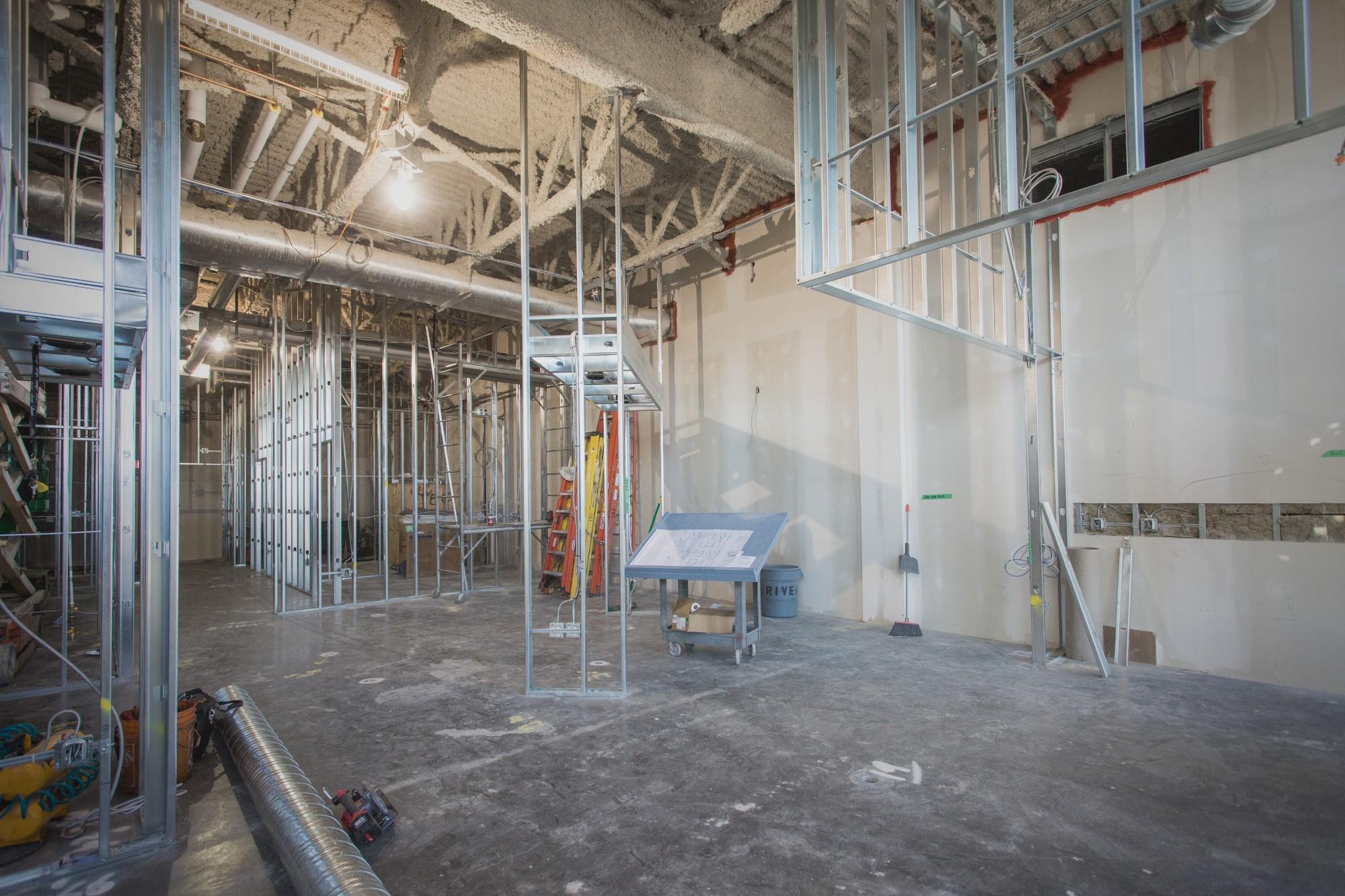 - tenant improvements