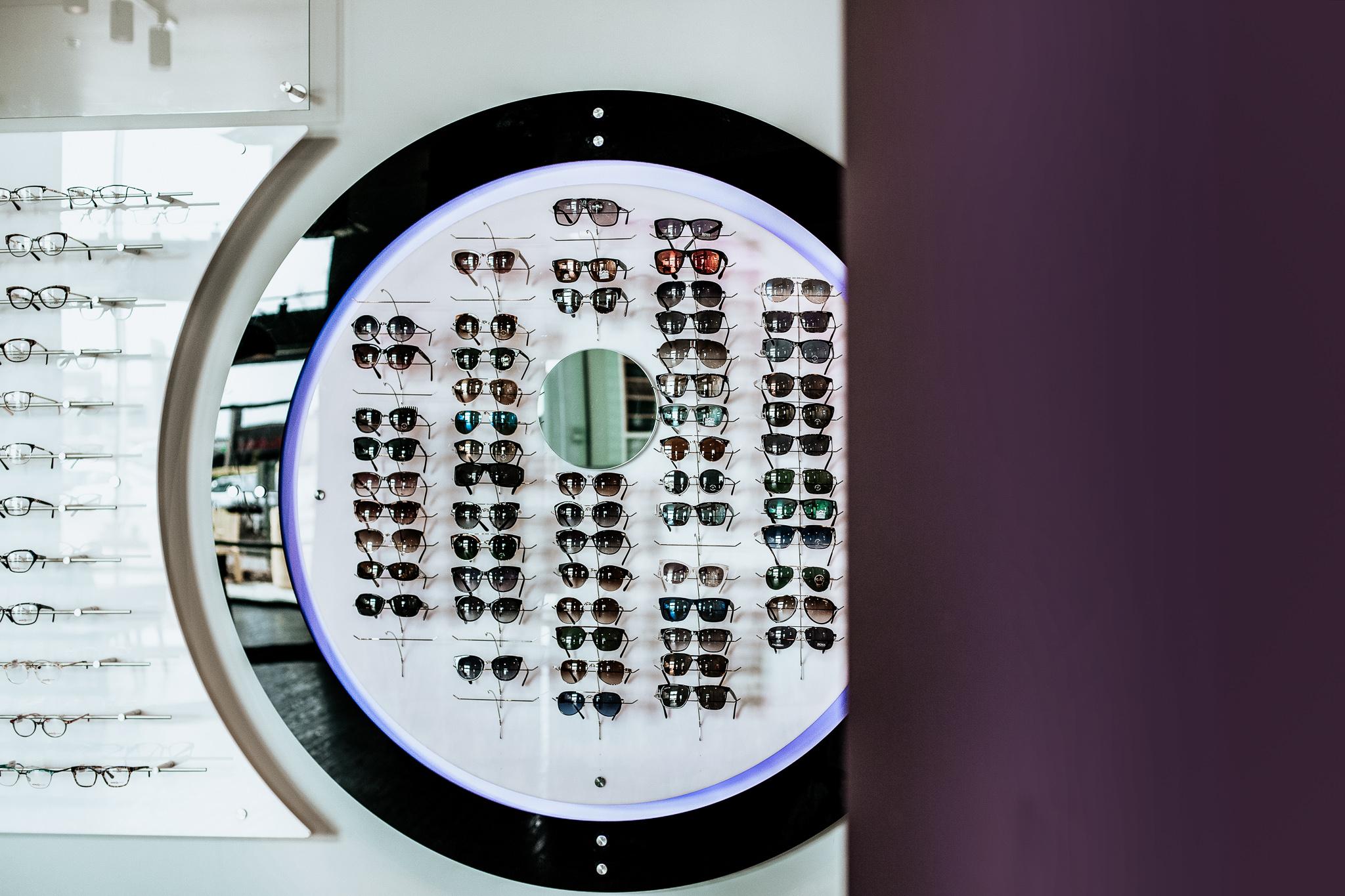 Eye clinic in Sherwood Park, Alberta.