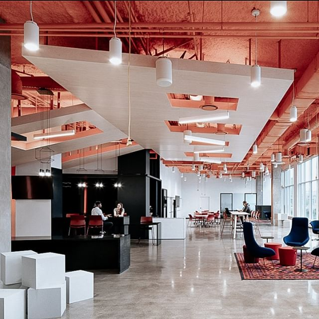 Check out these Toronto OCAD U CO Incubator Offices featured on @officesnapshots! This unique space is designed to spark innovation and serves as a hub for innovative art and design.  Do you have a space that makes you feel inspired and more innovative? Please let us know below! · · · · · #yeg #shpk #yyz #commercialDesign #officeDesign #officeSnapshots #innovation #art #design #interiorDesign #igDesign #designBuildRepeat #brandedDesign #designBuild