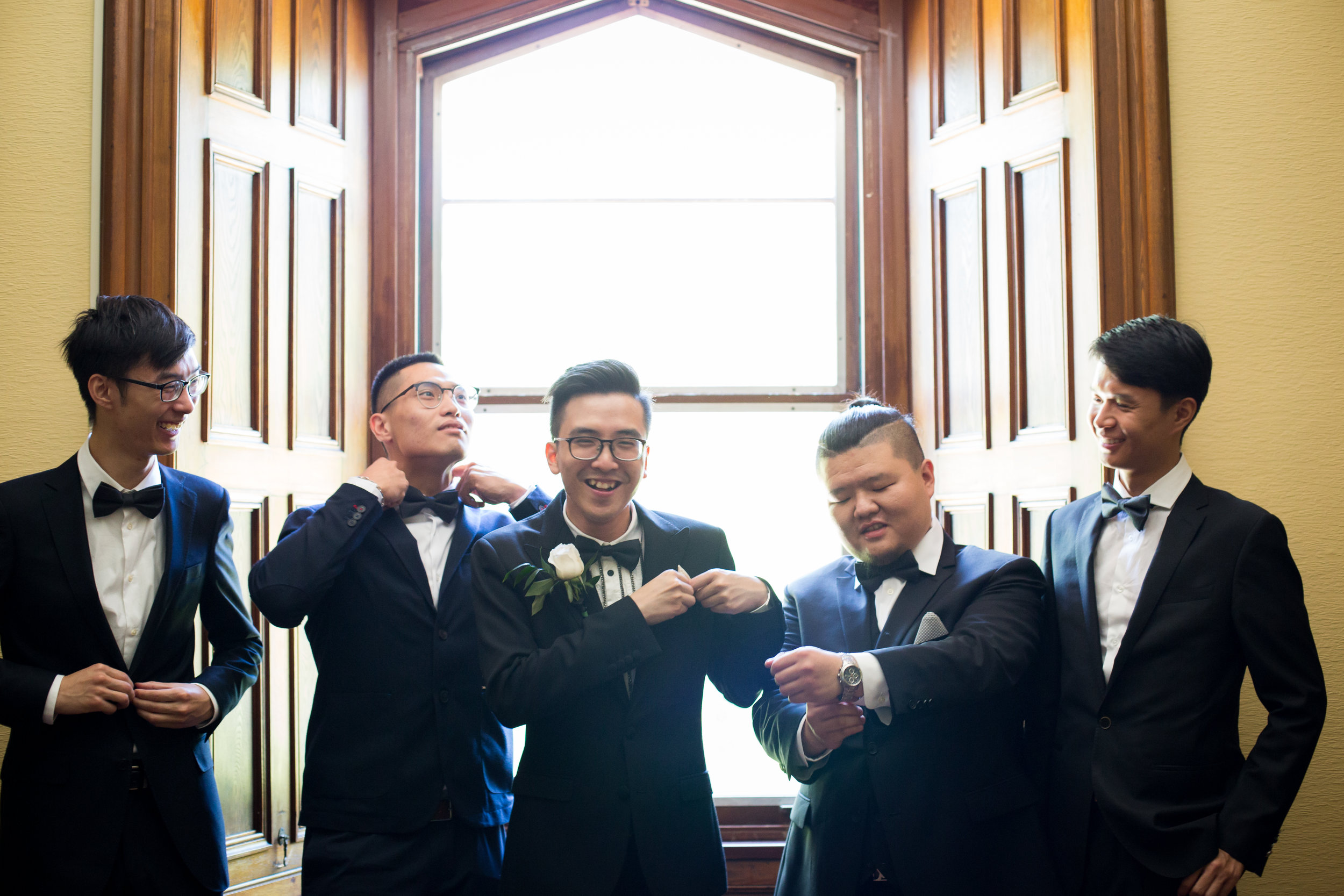 Copy of The groomsmen