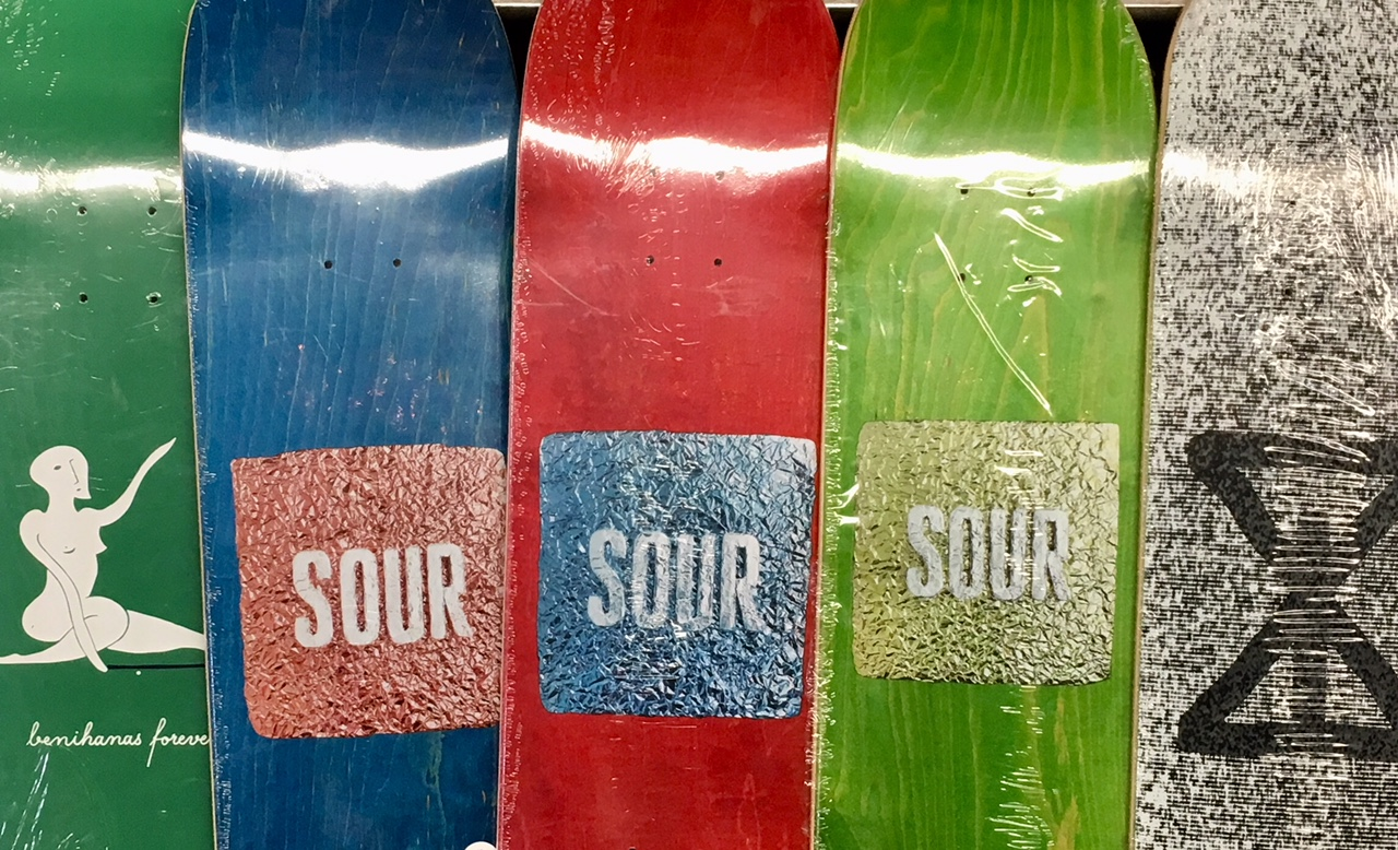 New wood from SOUR. - Click to watch their promo Video. Amazing.