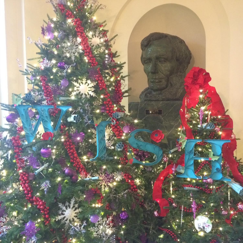 White House Christmas 2011-2014 custom letters