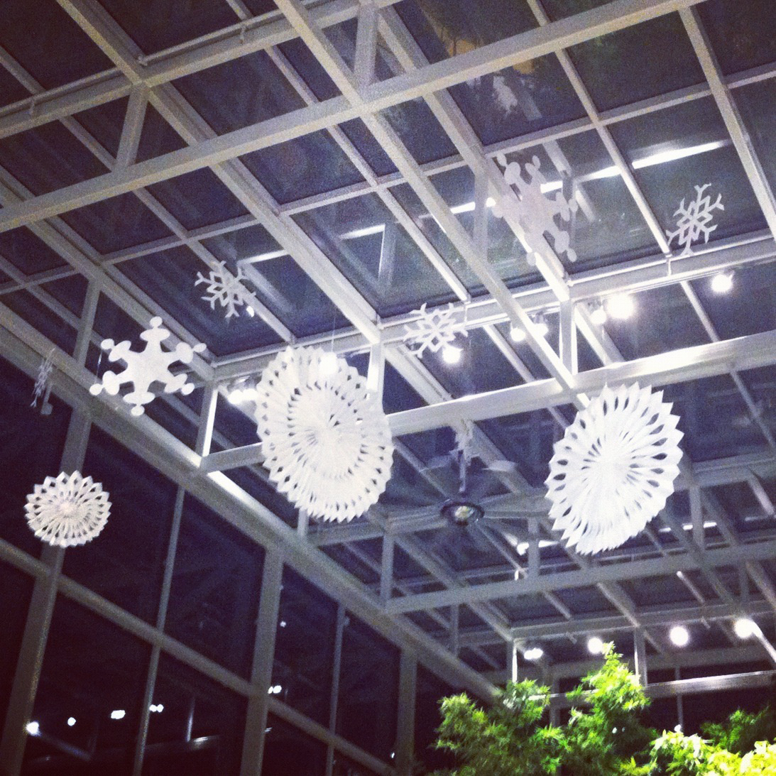 6' snowflakes for Lurie Children's