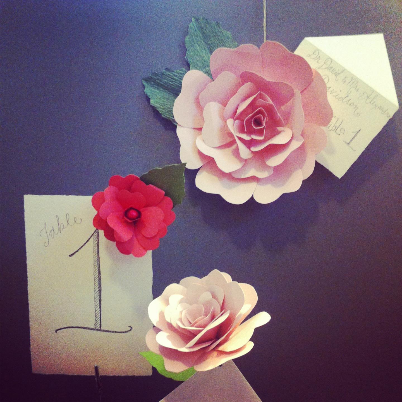 floral for wedding suite