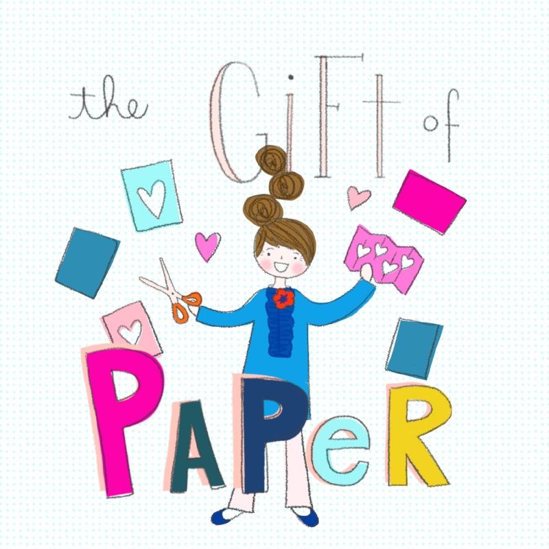 gift of paper cover