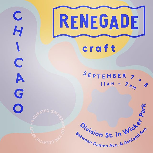 Will you come see me next month?!? I can't wait to show you all the fun things I've been working on! #renegadecraft #renegadechicago #jamidarwin #letterspacehandmade #handmade #artist #makersmovement #letterspaceprints