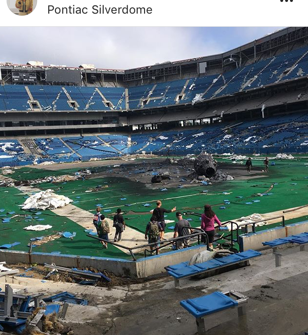 Set of Transformers at the Silverdome