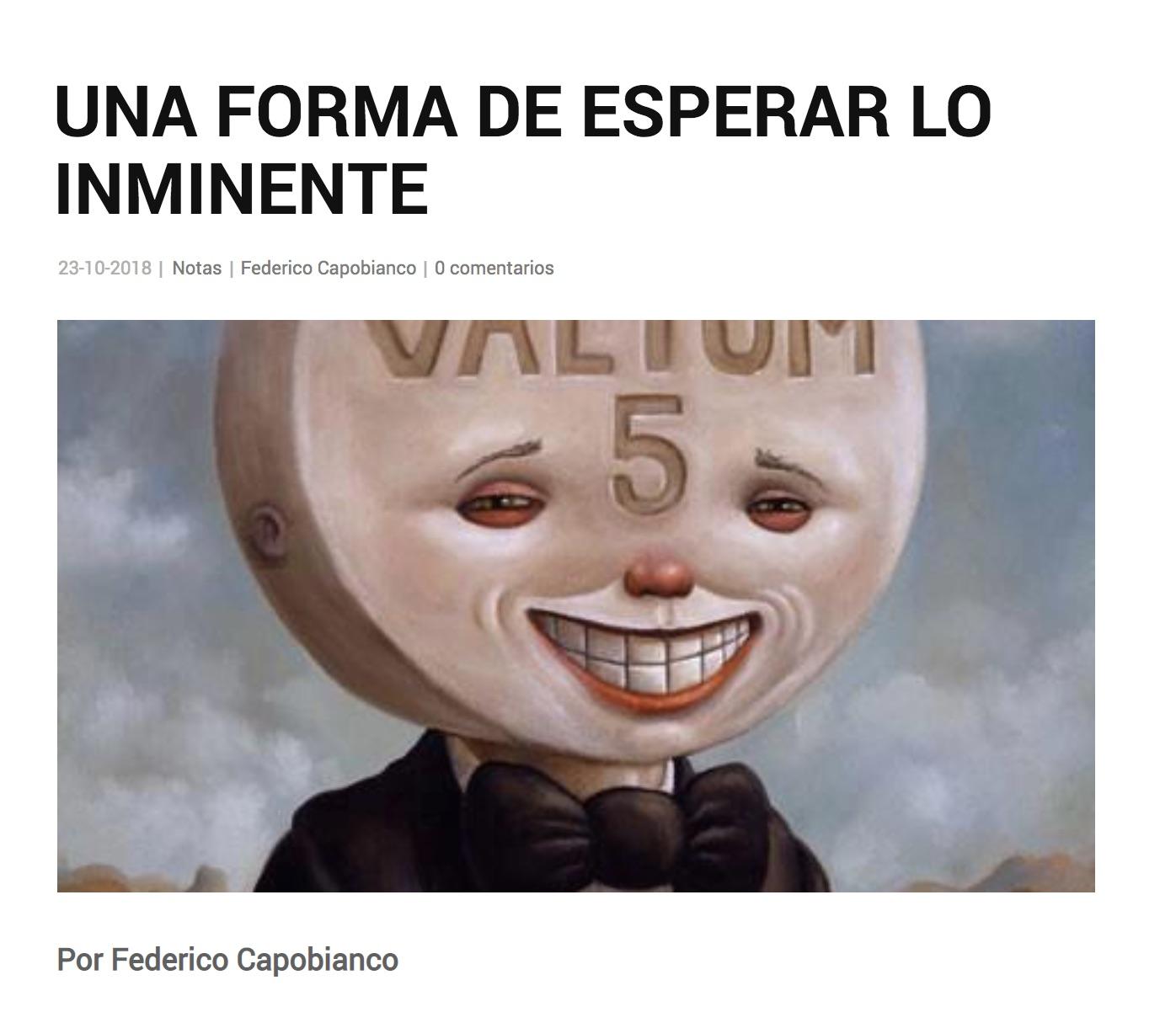 Reseña en Revista Polvo - por Federico Capobianco