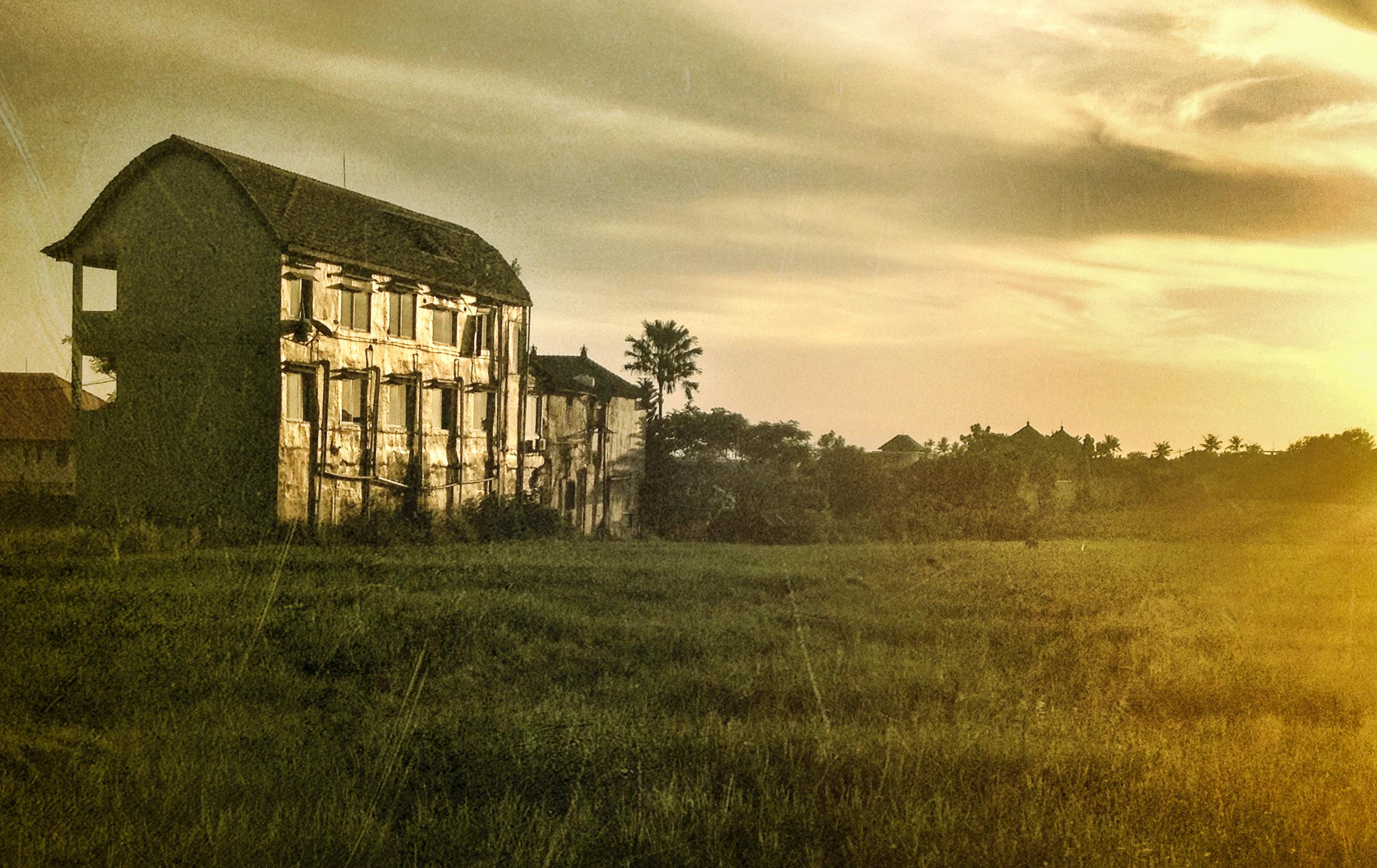 Bali a canvas sunset