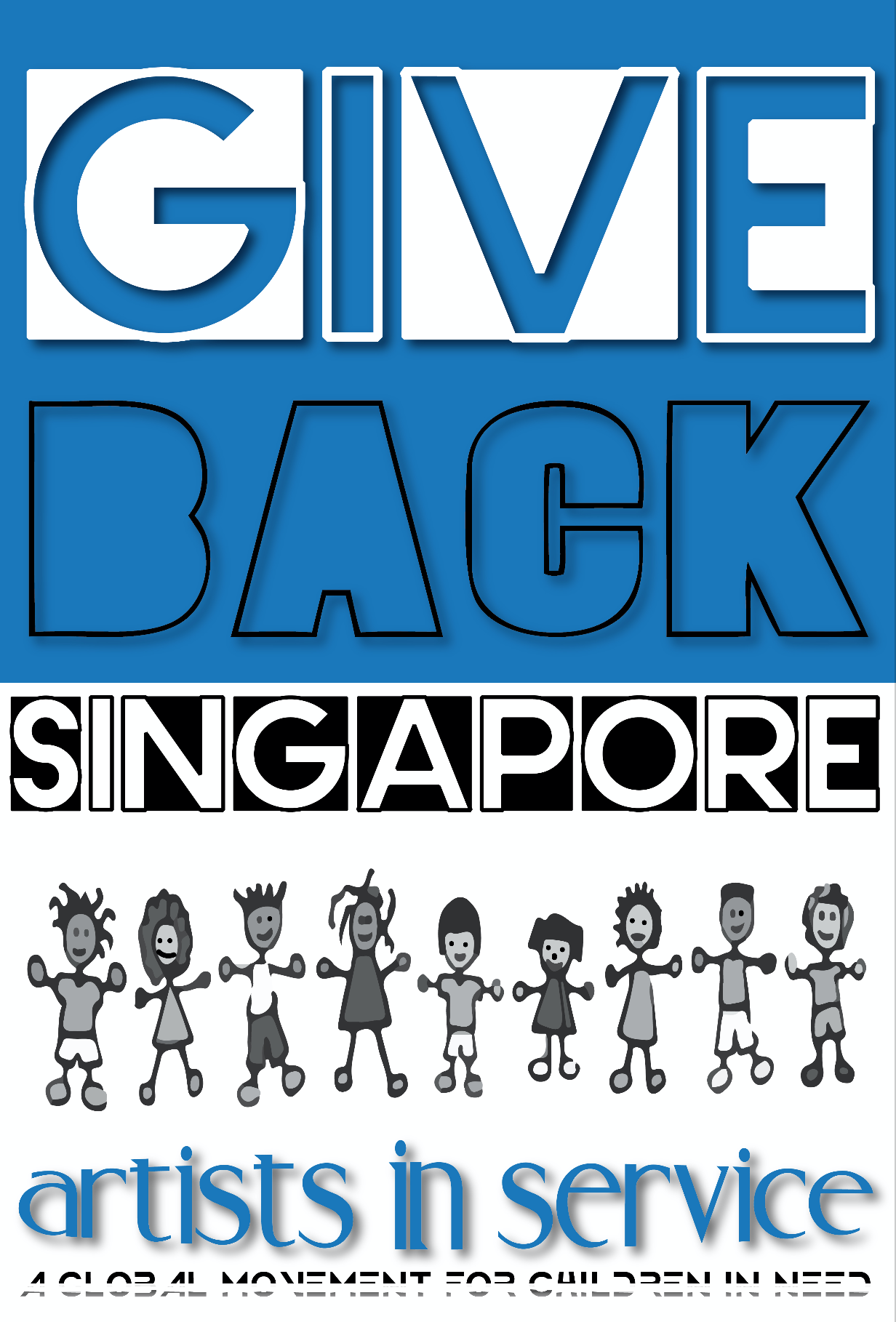 Give Back Singapore - With the support of Evgeny Tugolukov an enternenuer & philanthropist / David Smith co founder of The SIngJazz Festival SLH would create a unique version of Give Back featuring the top artists, musicians and entertainers in the region. The local charity MILK (mainly I love kids) featured the launch of music video at their annual gala dinner at the Ritz Carlton where each year they raise upwards of 2 million dollars to support MILK