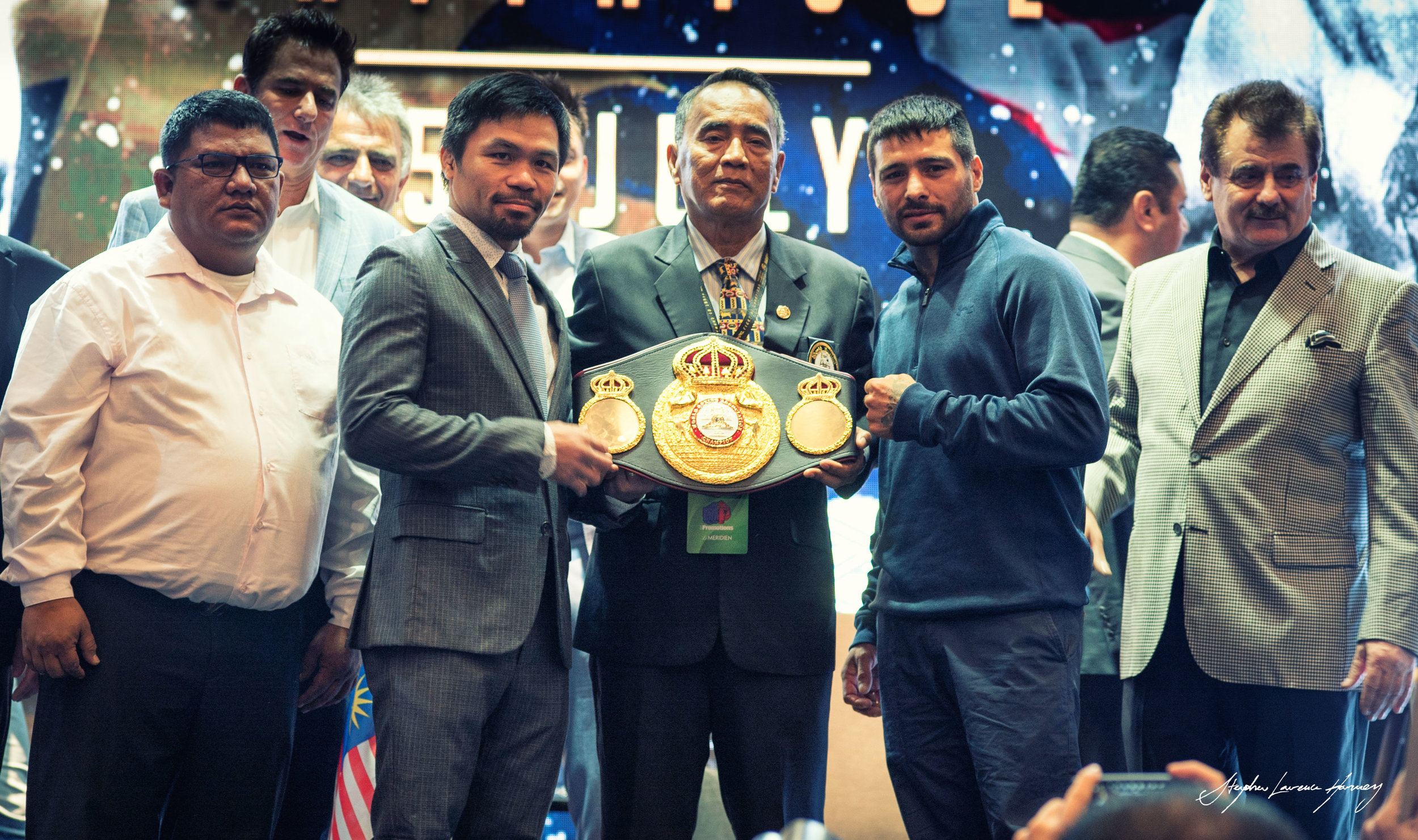 Manny Pacquiao to fight Lucas Matthysse for WBA welterweight title