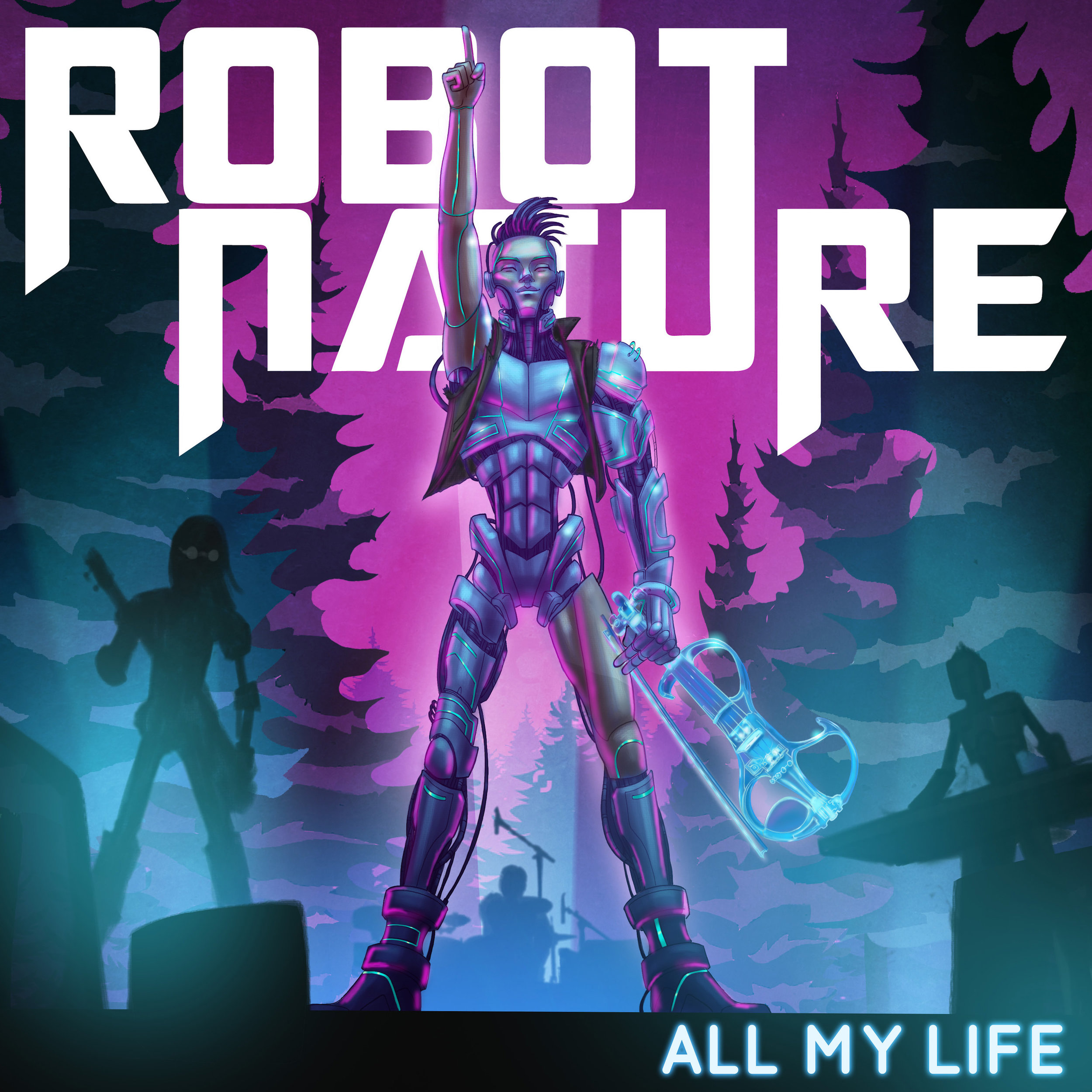 ALL MY LIFE - Los Angeles based group Robot Nature's first single release January 19th - Produced / Directed / Shot / Color Graded & Edited by SLH. The video was shot in the Mojave Desert and downtown LA.To purchase the music and fin out more about the Robots go to : https://www.robotnature.com