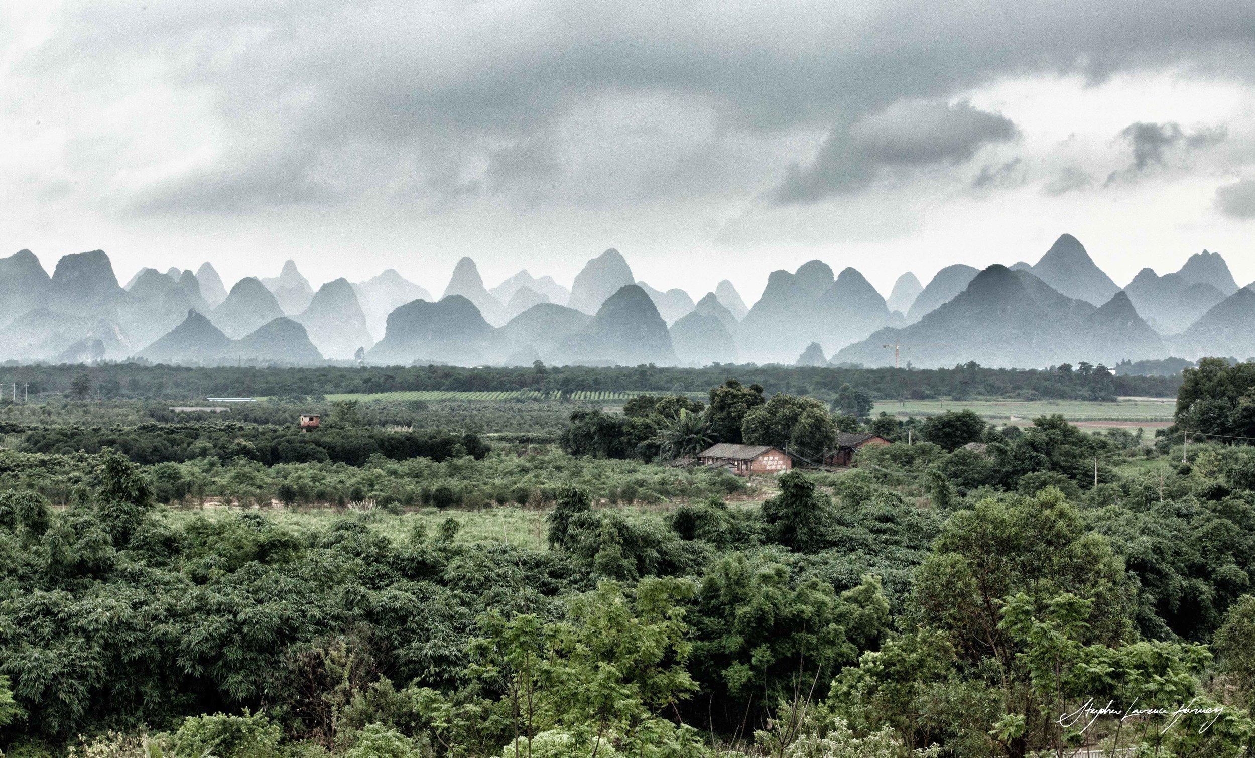 China Yangshzou Mountains (1 of 1).jpg