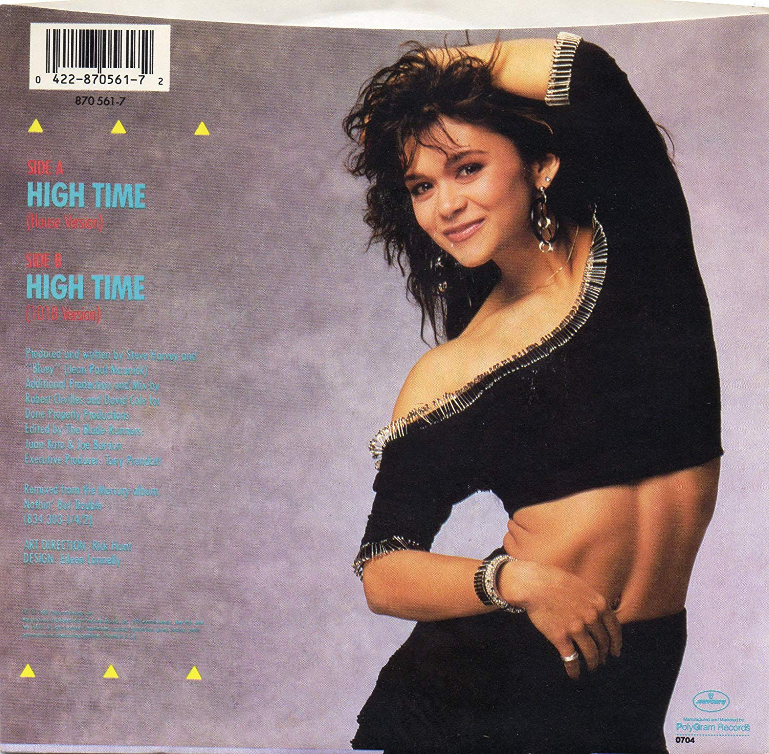 Nia Peeples - High Time - the follow up single to TROUBLE on Pal