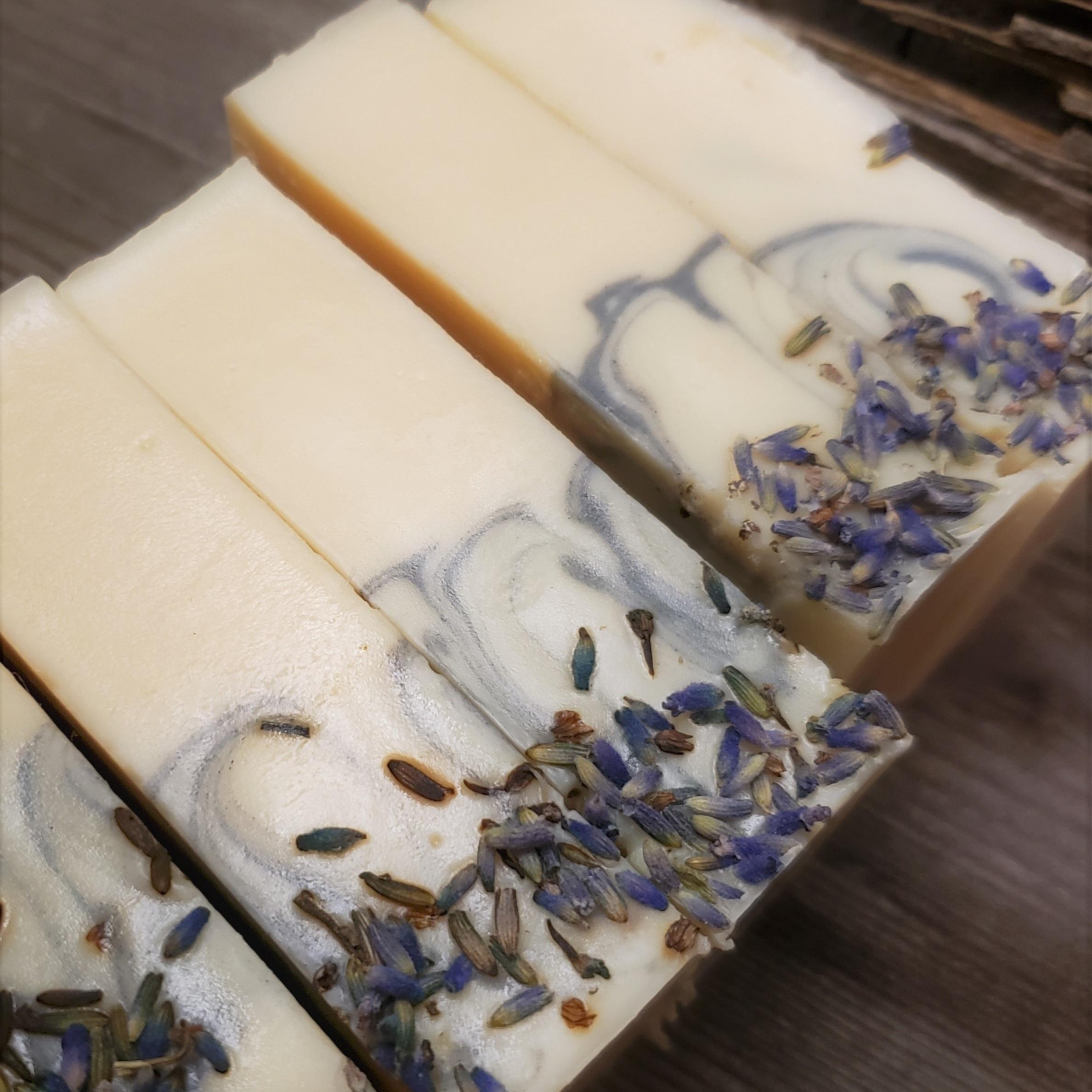 SNEAK PEAK - Hungarian Lavender - Goat's Milk Soap