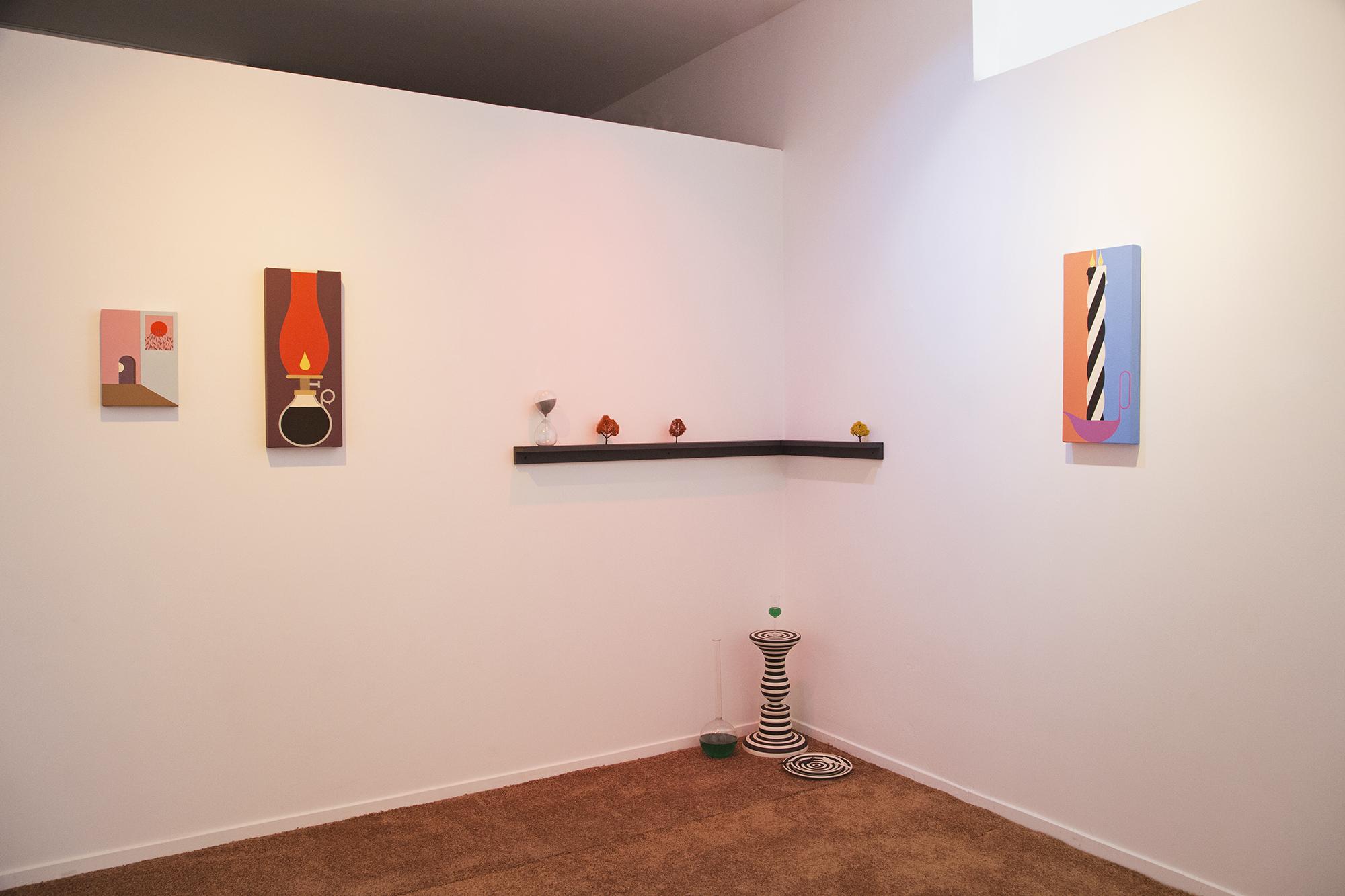 Greg Ito art exhibition at Public Land art gallery in Sacramento