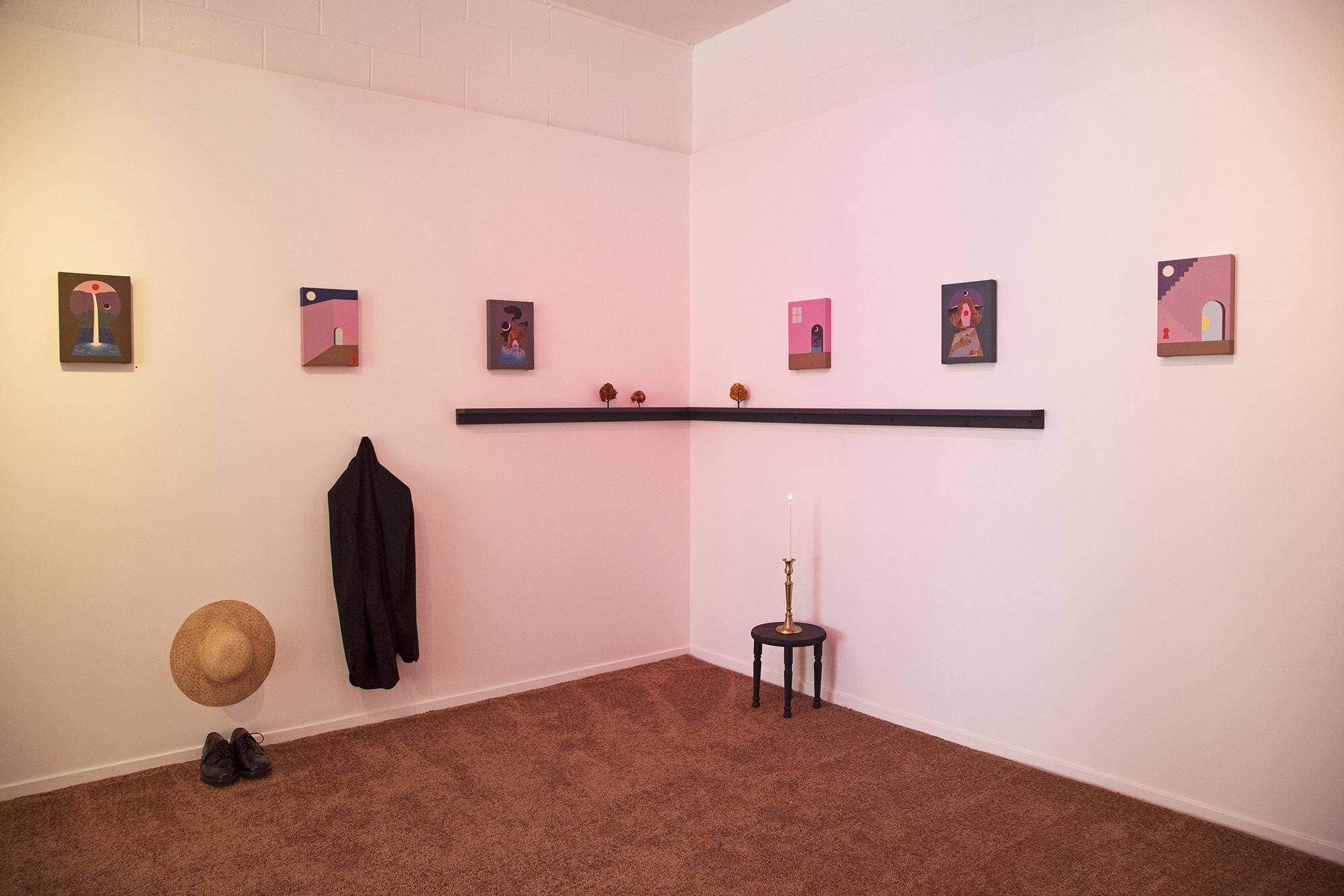 Greg Ito Art exhibition at Public Land in Sacramento, California