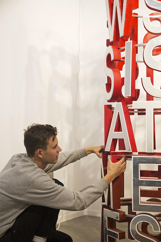 Toronto artist Trevor Wheatley