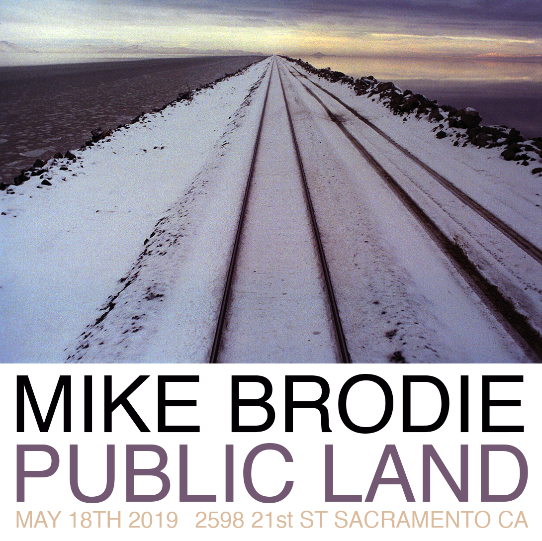 Mike Brodie photography exhibition at Public Land in Sacramento