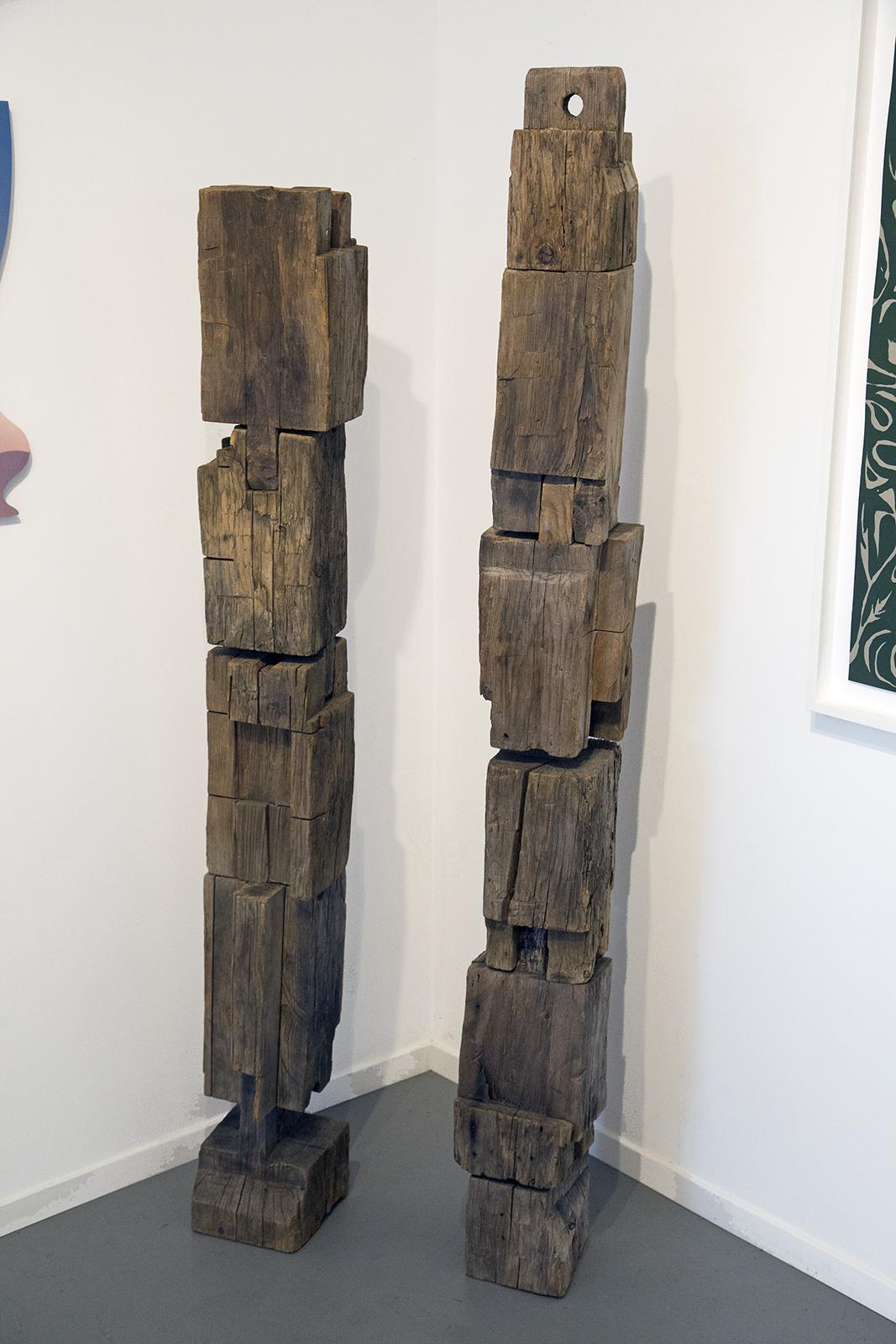 Joe Meade sculpture at Public Land Gallery in Sacramento