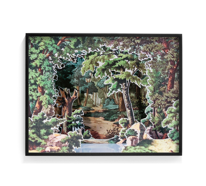 Elizabeth Corkery artwork at Public Land Gallery in Sacramento