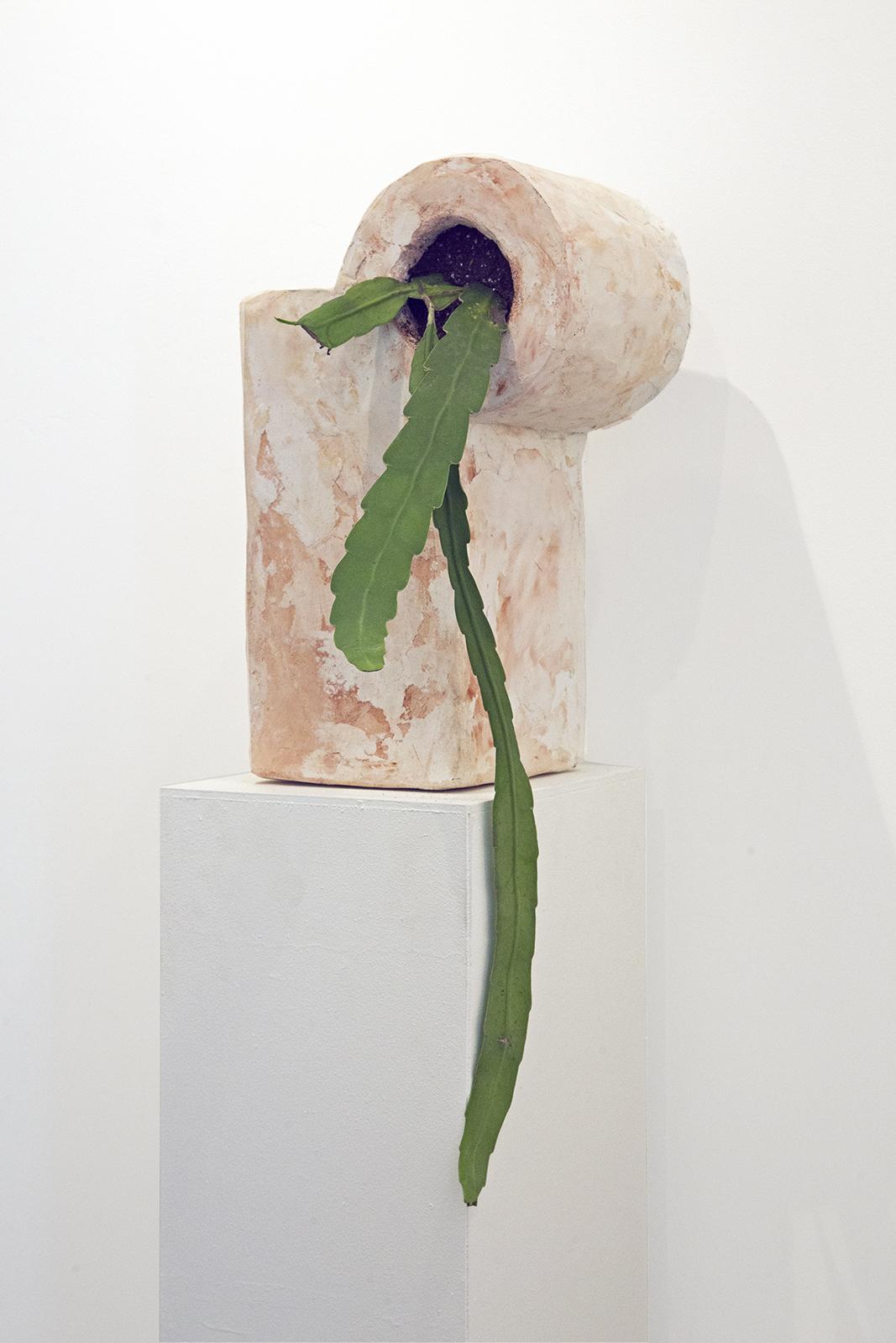Trent Dean sculpture at Public Land Gallery