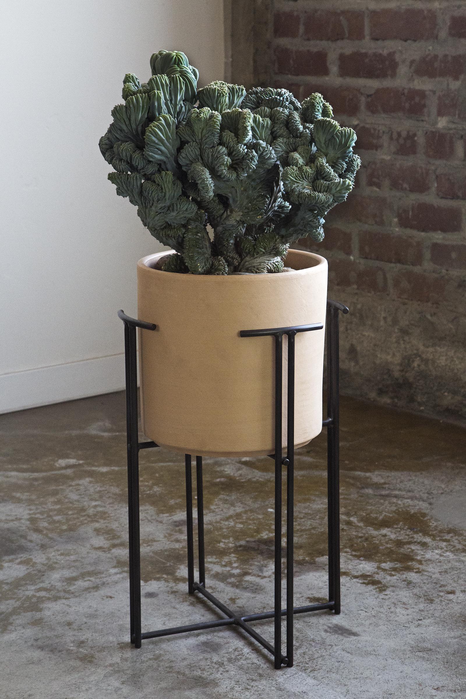 custom metal plant stand