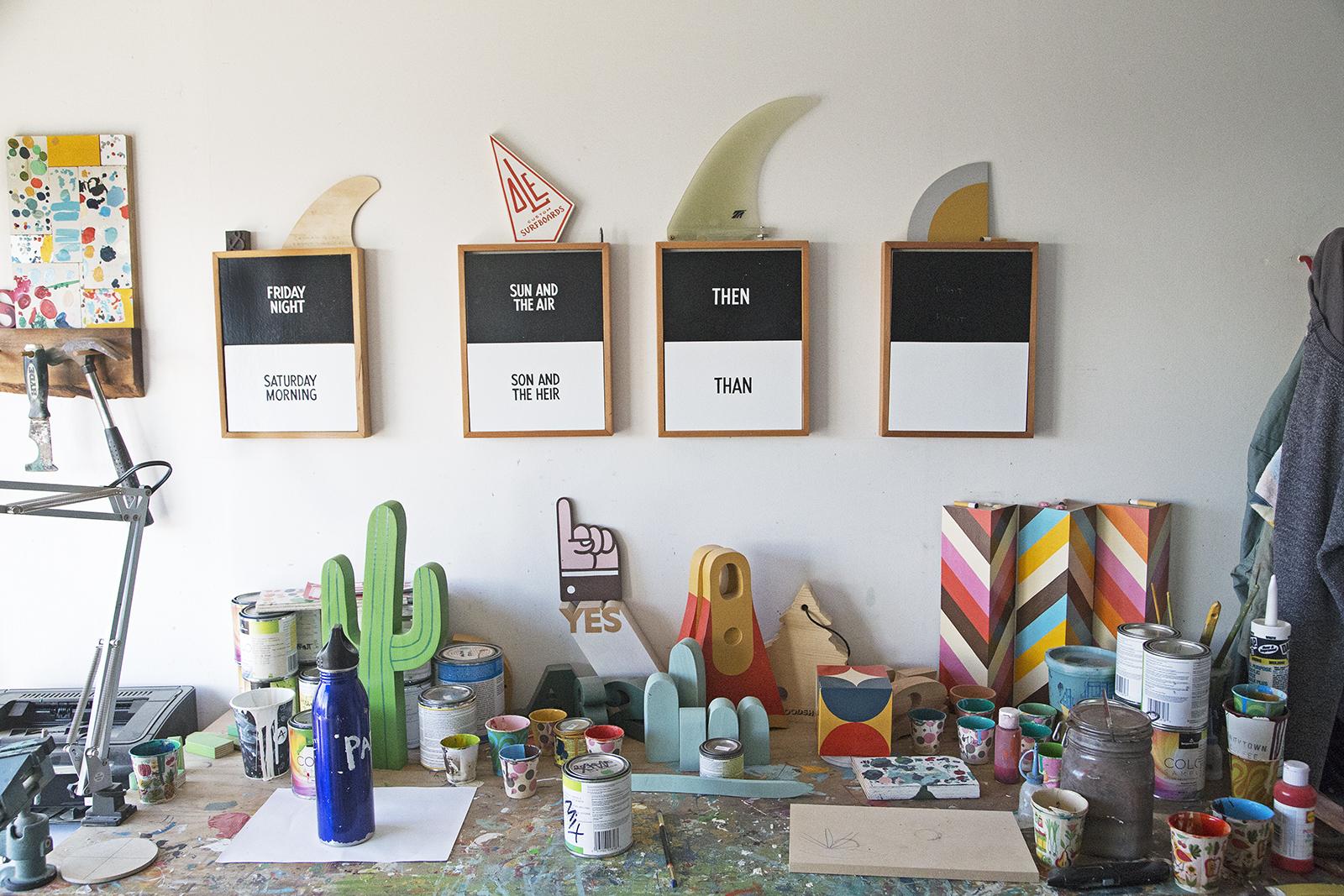 Jeff Canham studio in San Francisco