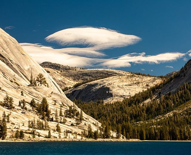 Clouds shaped like the mountains. Somewhere in Tioga Pass.