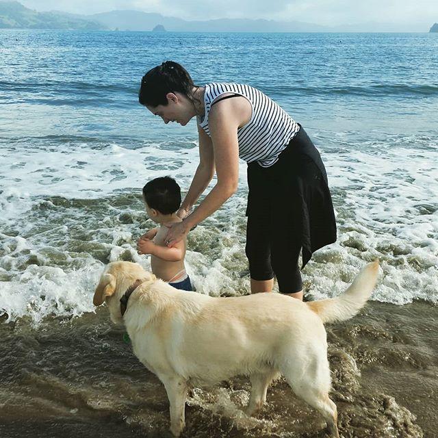 Family time#Cooks Beach#where else